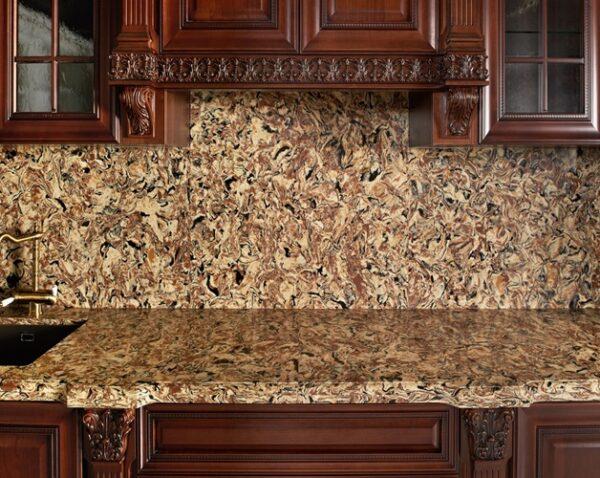 Штучне каміння Vicostone Tiger BQ9438 Искусственный камень для столешниц, столешница искусственный камень, искусственный камень для столешниц, искусственный камень для столешницы, искусственный камень для фасада, искусственный камень на стены, искусственный камень для стен, искусственный камень на столешницу, искусственный камень купить киев